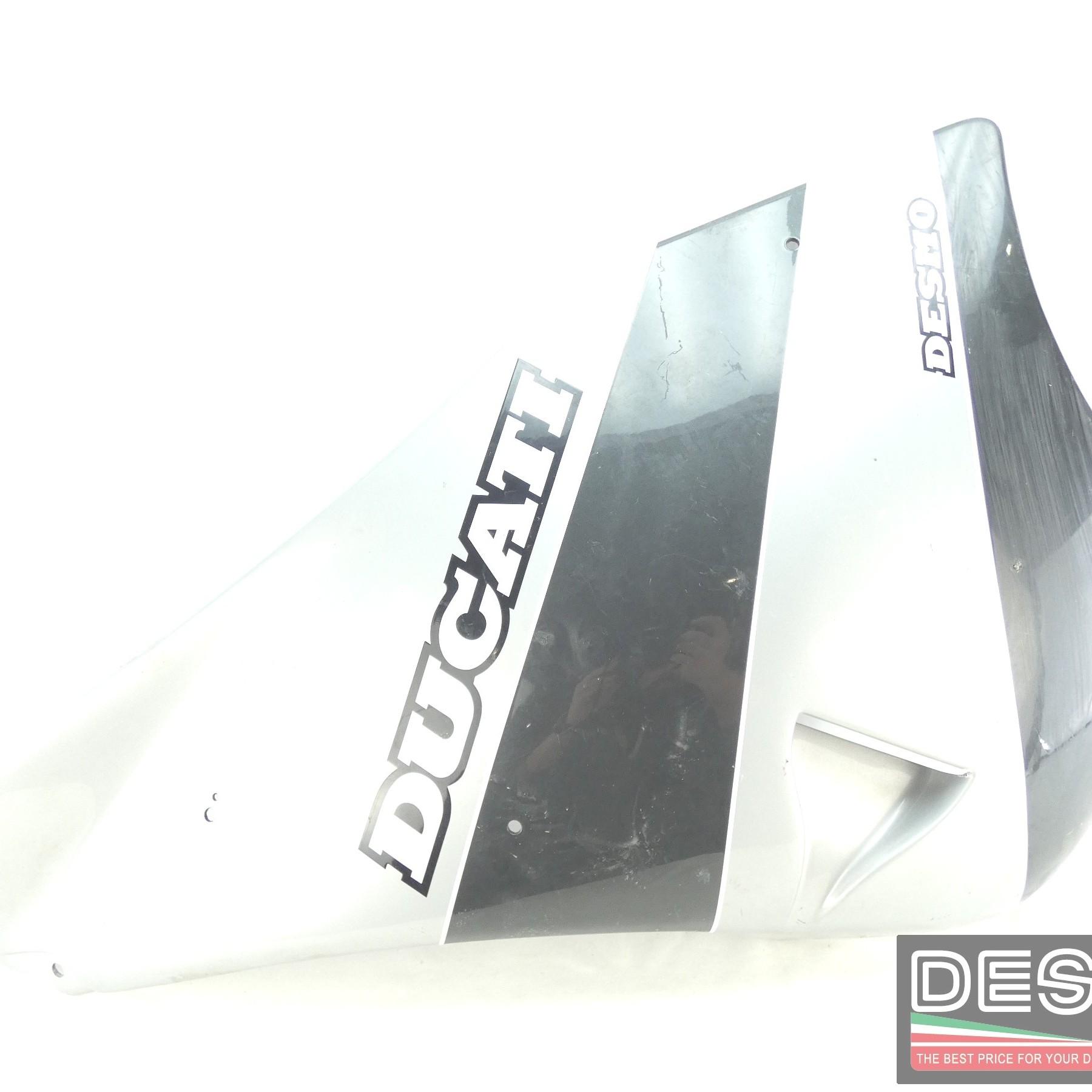 Carena fiancata sinistra grigia Ducati 750 Sport Supersport 900