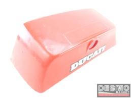 Cover serratura sella rosso Ducati Paso 750 900
