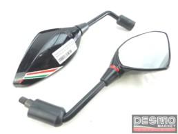 Specchi specchietti retrovisori neri Ducati Monster s4r s4rs