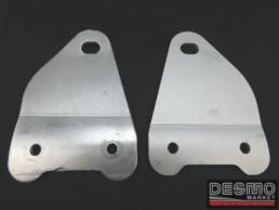 Staffe silenziatori sinistro destro Ducati Monster 600 750 900