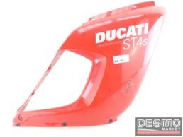 Carena fiancata superiore destra rossa Ducati ST4 S