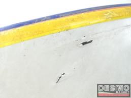 Carena fianchetto sottosella sinistro bianco blu Cagiva Freccia C9