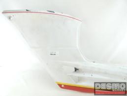 Carena fianchetto sottosella sinistro bianco rosso Cagiva Freccia C9