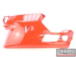 Carena inferiore sinistra rossa Ducati 749 999 MY 2002 2004