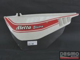 Fianchetto sottosella sinistro bianco Cagiva Aletta Electra