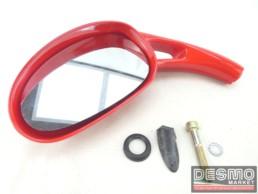 Specchio specchietto retrovisore sinistro rosso Malaguti Phantom