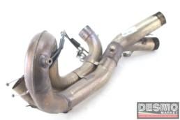Body collettore scarico centrale Ducati 848 1098
