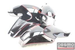 Kit vestizione Ducati Monster 696 796 1100 nero profilo rosso