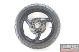 Cerchio ruota posteriore 3 razze nero 4,50 x 17 Ducati Monster 620 695