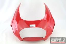 Cupolino carena faro anteriore rosso Ducati ST2 ST3 ST4