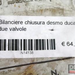 Bilanciere chiusura desmo Ducati due valvole