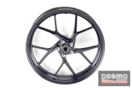 Cerchio anteriore Marchesini nero Ducati Panigale V4