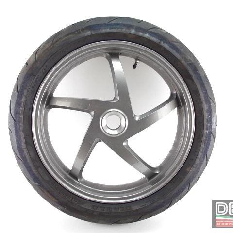 Cerchio ruota posteriore 5 razze grigio Ducati 998