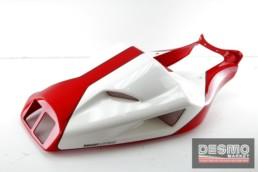 Codone monoposto rosso bianco originale Ducati 748 916 996 998