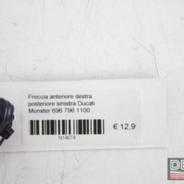 Freccia anteriore destra posteriore sinistra Ducati Monster 696 796 1100