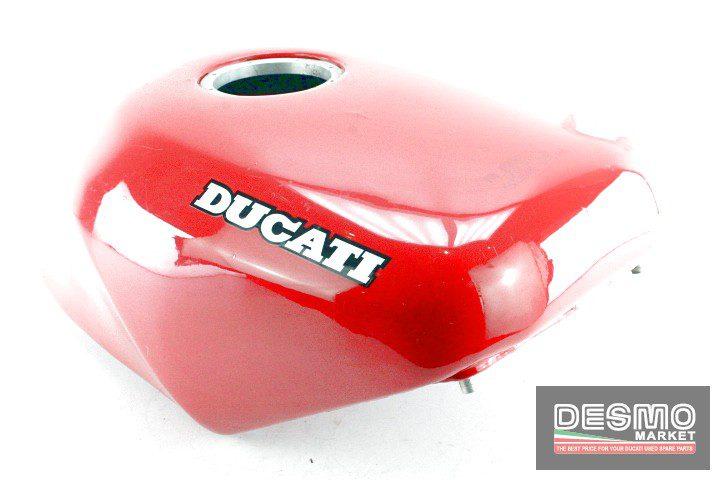 Serbatoio carburante alluminio rosso Ducati 851