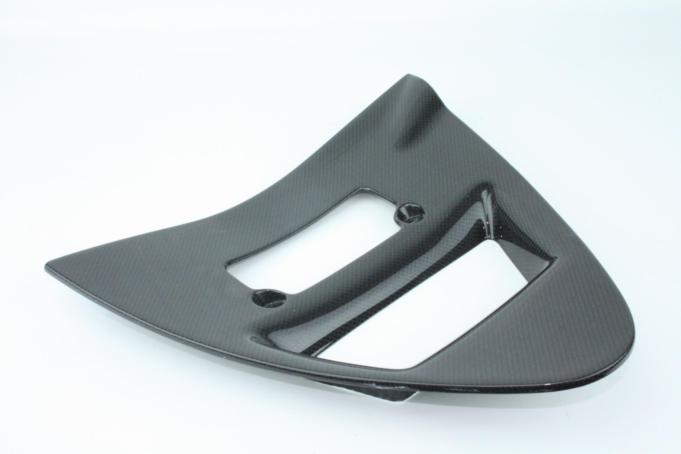 Triangolo cover radiatore carbonio ducati 748 916 996 grezzo
