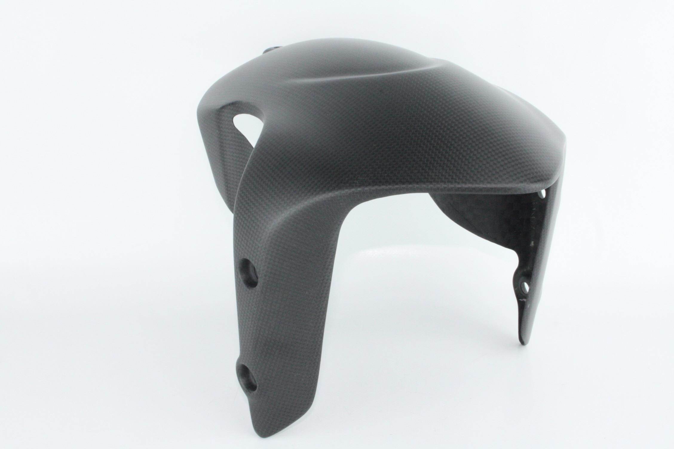 Parafango anteriore diavel carbonio opaco