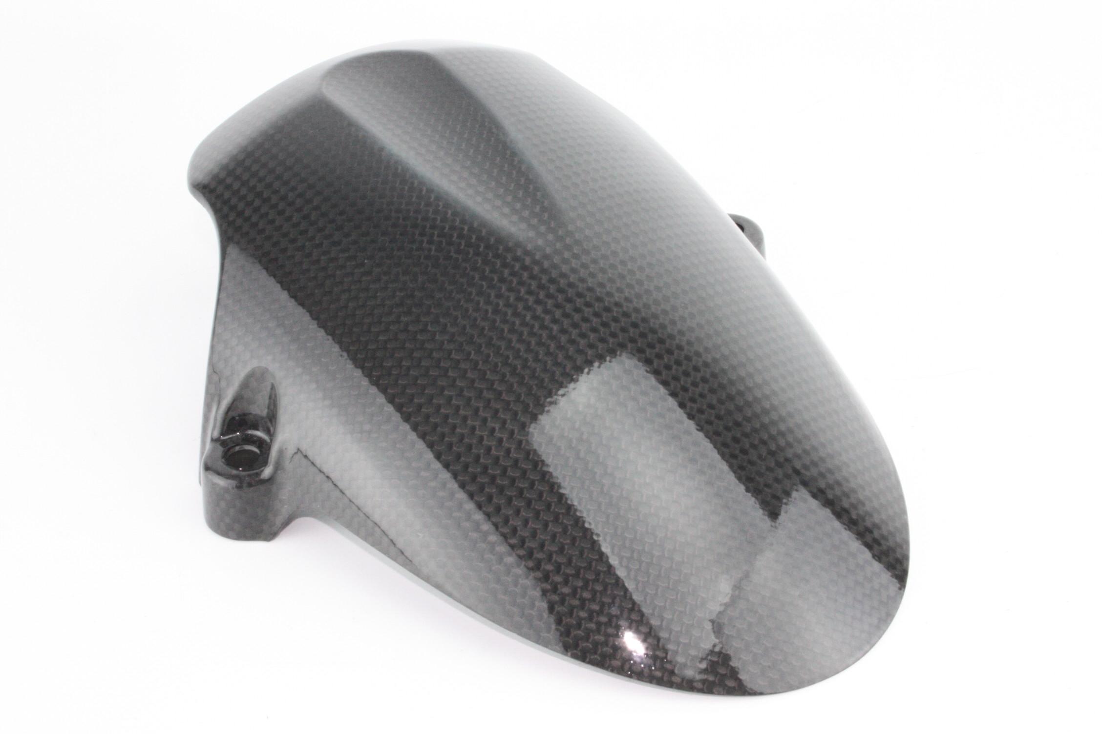 Parafango anteriore ducati hypermotard in carbonio lucido