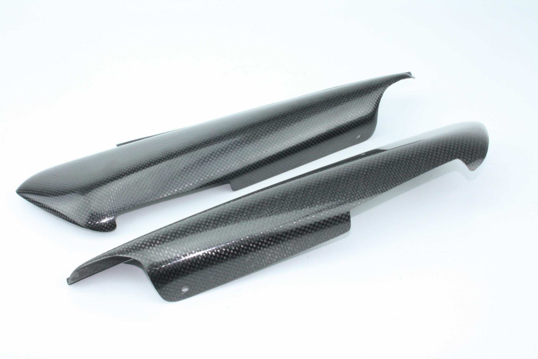 Fianchetti laterali sotto sella pannelli carbonio
