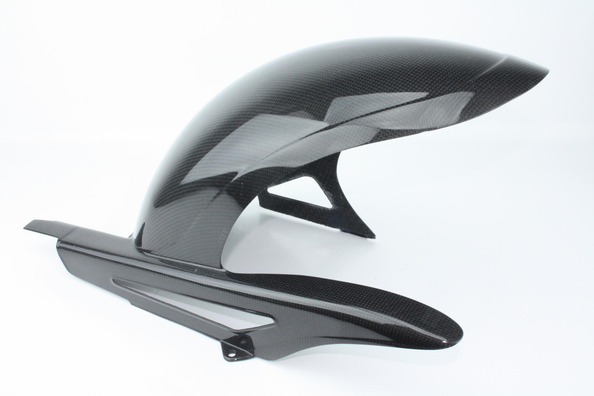Parafango posteriore carbonio monster S4 916 4 fori