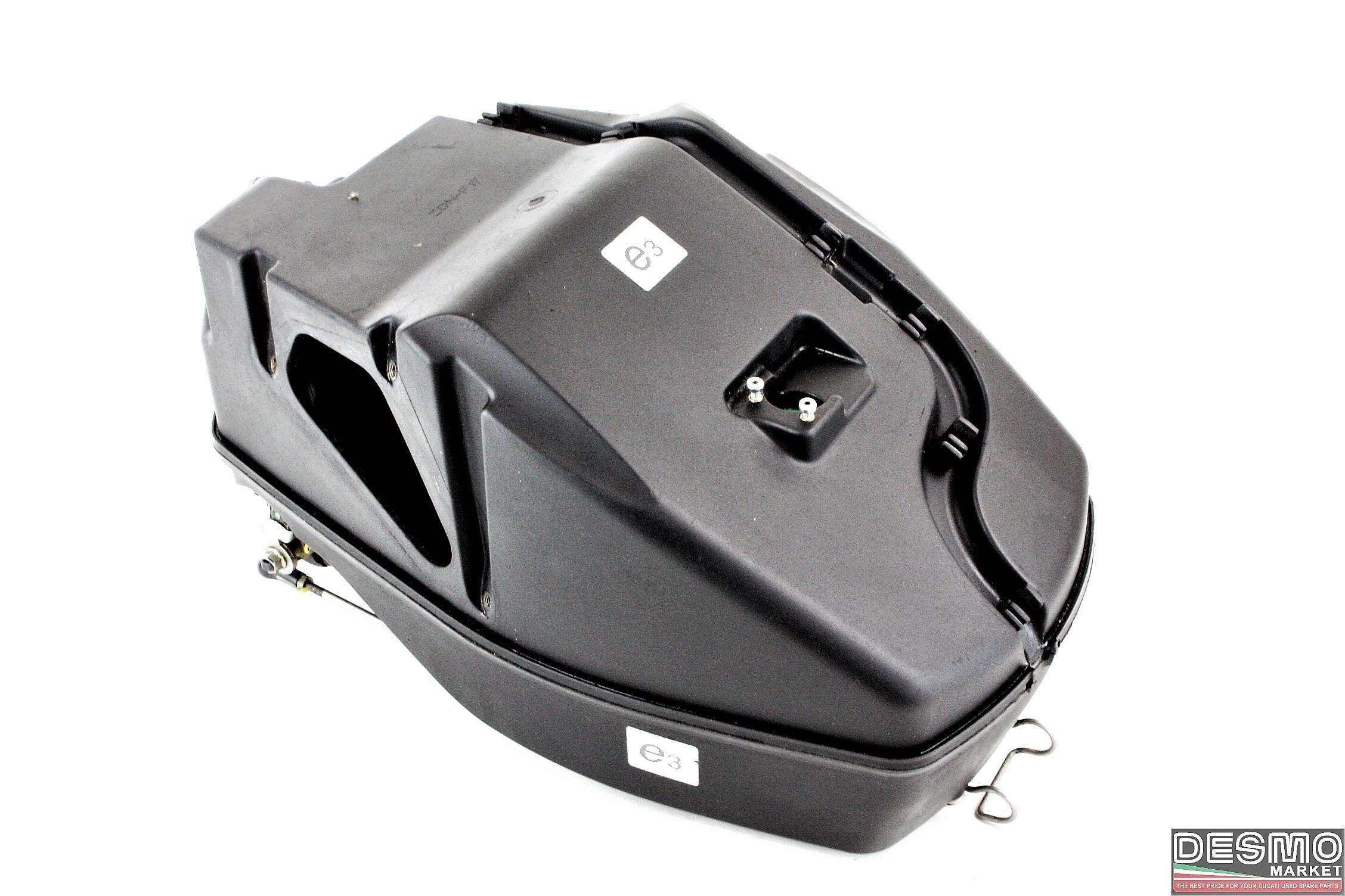 Airbox scatola aria completo corpi ducati 1098