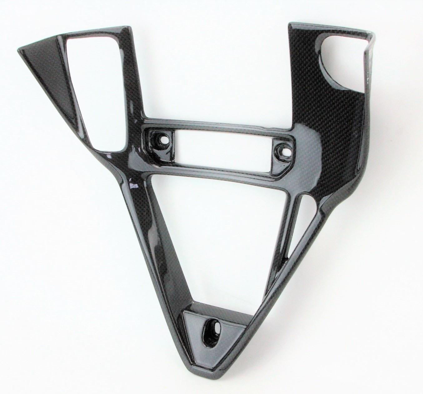 Triangolo copri radiatore olio Scudo frontale carbonio originale ducati 749 999