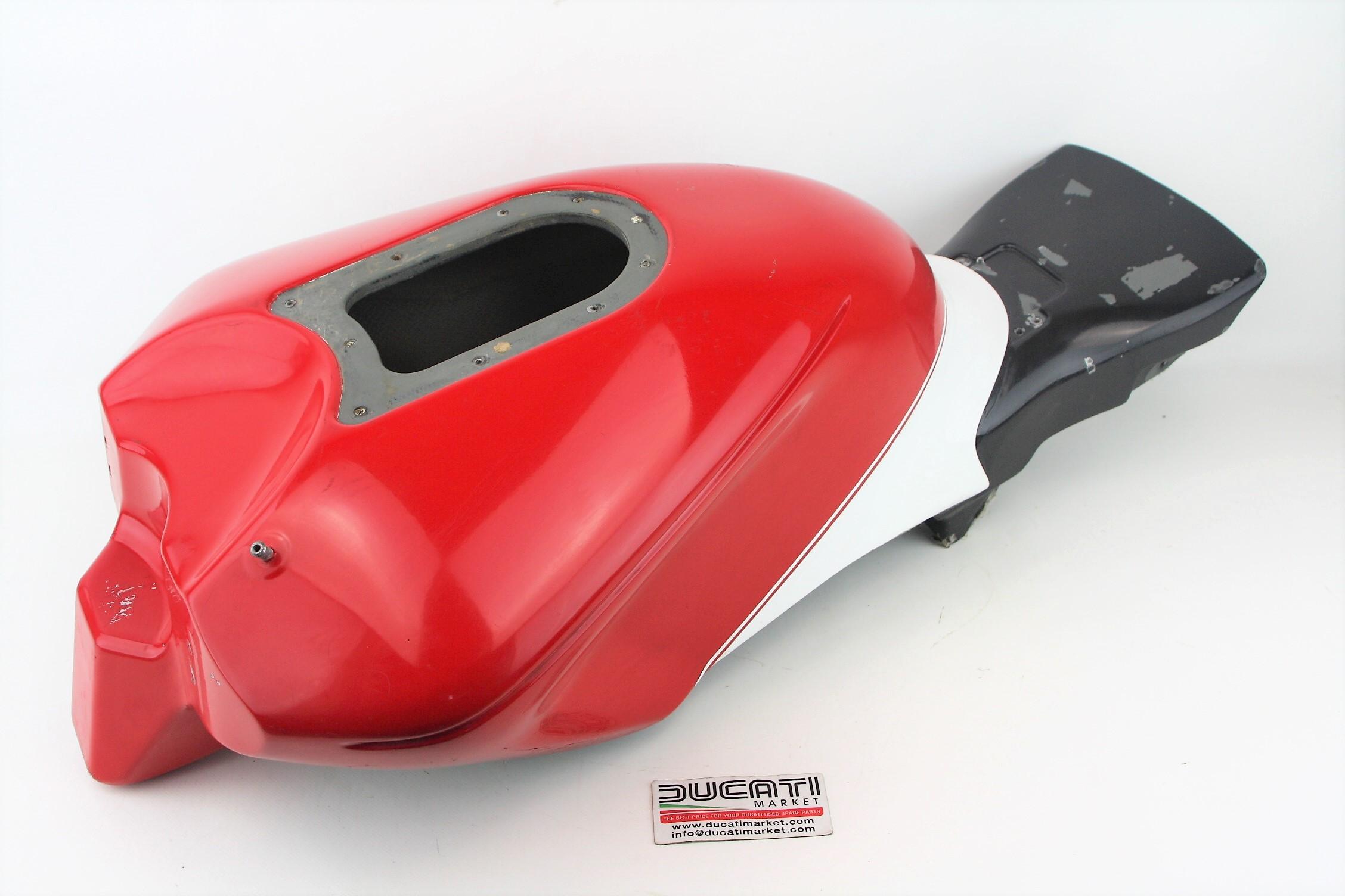 Ducati corse serbatoio fibra di carbonio Ducati 999 F03-04 999 R ufficiale SBK