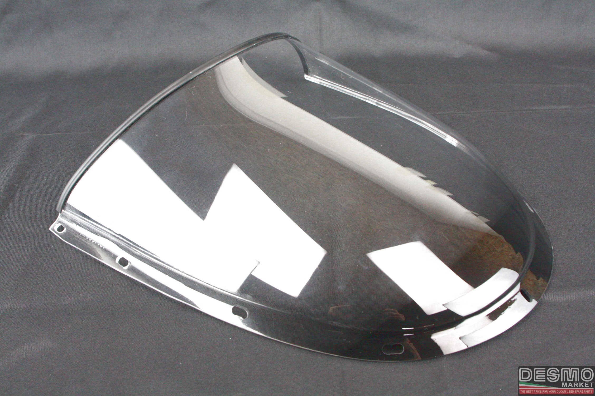 Plexi plexiglass cupolino ducati 998 final edition