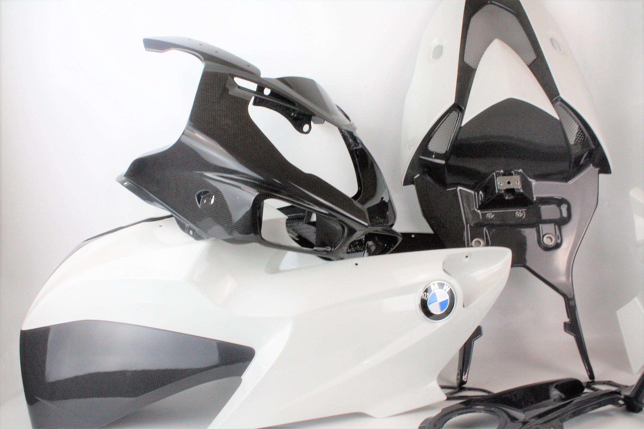 kit completo carenatura carbonio BMW HP2 HP 2 Sport MS Production